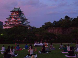 大阪城にある西の丸庭園