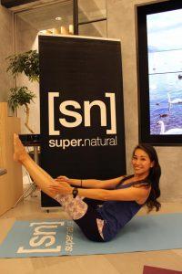 新宿高島屋にて[sn]super.naturalの特別レッスンを担当させて頂きました