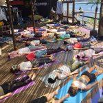 surfers逗子で、恒例の海ヨガを開催しました