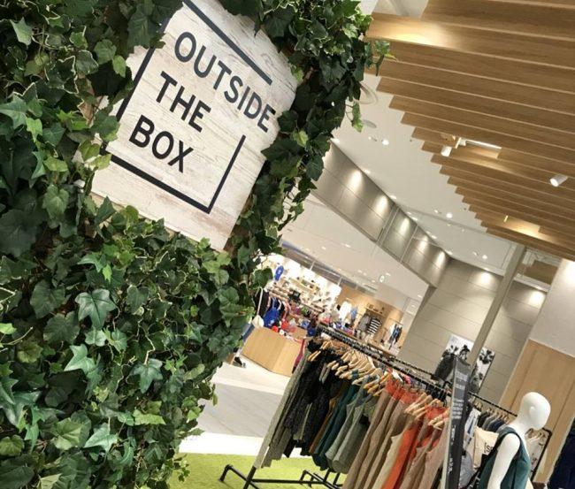 期間限定POP UP @OUTSIDE THE BOX イオンモール堺北花田店(3階)