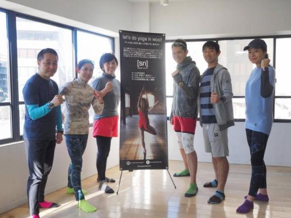 Try!×[sn]super.natural ランニングイベント @ 10over9神田錦町店