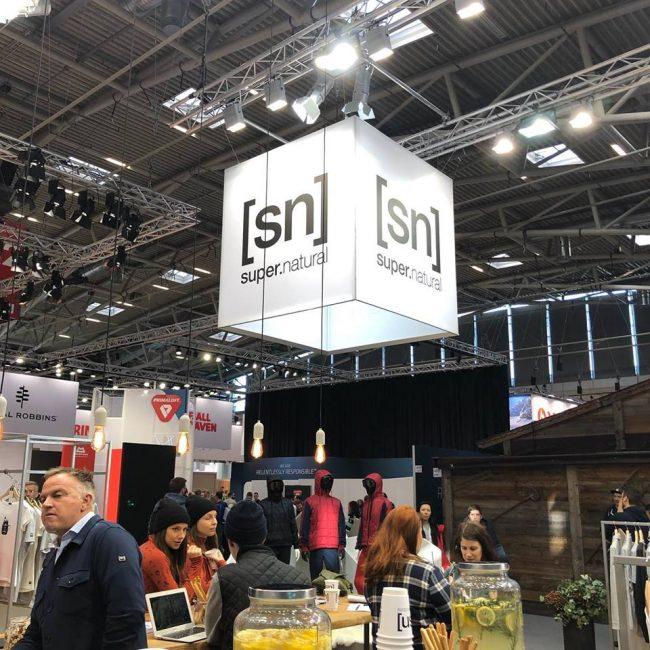 ヨーロッパで最大展示会、ISPOに出展