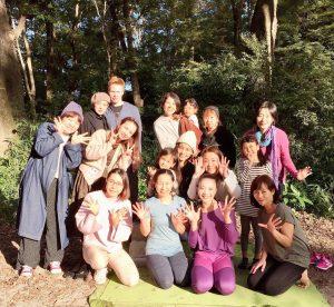 ヨガフェス@下鴨神社でヨガクラスをさせて頂きました!