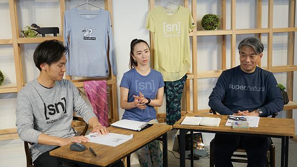 The Woolmark Company様 主催オンラインセミナーにSN Japan 福原・平出/磯沙緒里さんが登壇いたしました