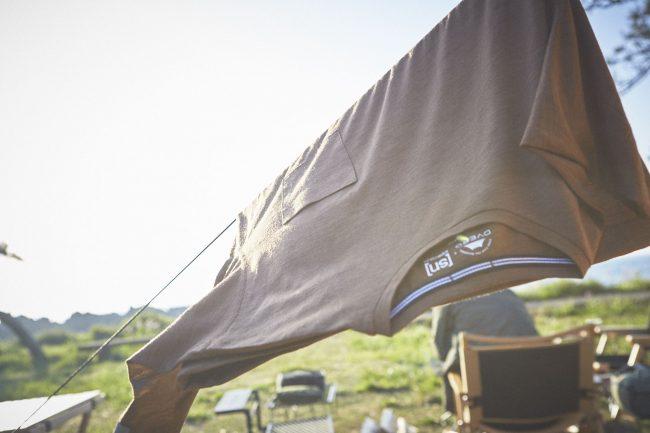 キャンプを最適に過ごすための Tシャツ
